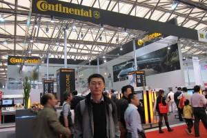 2011 Shanghai International Auto Show, Continental booth