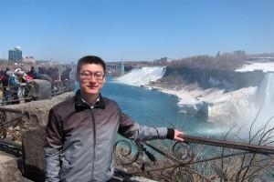 2014年4月,著名的尼亚加拉大瀑布,加拿大