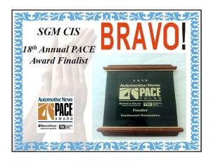 2012 Automotive News PACE Award - Finalist Award
